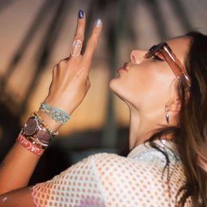Alessandra Ambrosio Unicorn Dress Coachella 2018