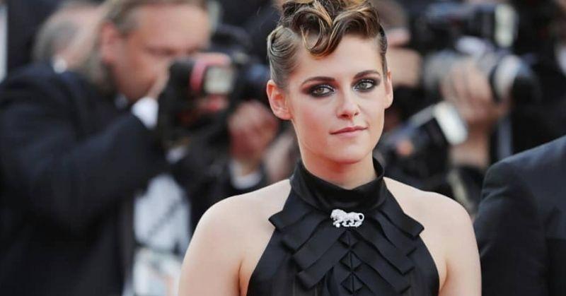 Kristen Stewart Black Chanel Dress Cannes 2018 Red Carpet