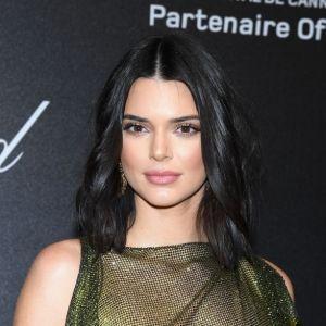 Kendall Jenner Sheer Green Dress Cannes 2018 Chopard Secret Night