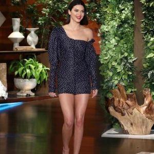 Kendall Jenner Gianvito Rossi Nude Stiletto Heels