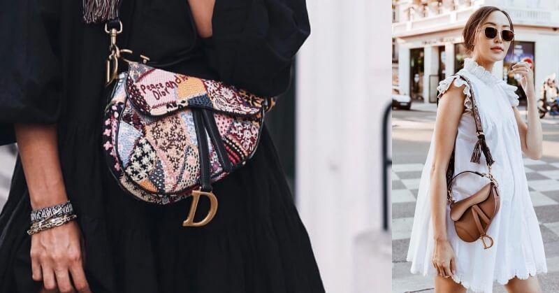 Dior Saddle Bag Fall 2018 Collection