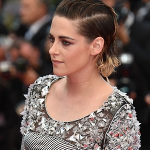 Kristen Stewart Silver Metallic Dress Cannes 2018 Red Carpet