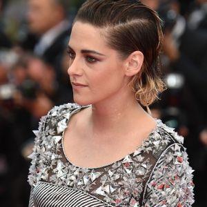 Kristen Stewart Silver Metallic Dress Cannes 2018 Red Carpet