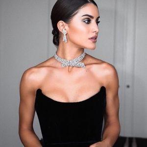 Camila Coelho Black Dress Red Carpet Cannes Film Festival 2018