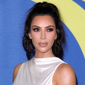 Kim Kardashian Braless White Crop Top CFDA Fashion Awards 2018 Rick Owens