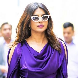 Priyanka Chopra Vivienne Westwood Purple Dress